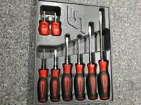 Snap on screw driver set