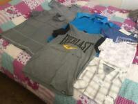 bundle of men's t-shirts size medium