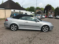 FINANCE AVAILABLE Saab 9-3 convertible automatic in great condition unmarked inside and out