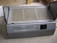 Extractor cooker hood, integrated, good condition