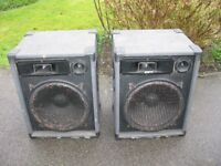 Vintage PA Speakers