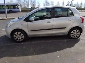 Toyota Yaris 1.3 Petrol Manual 1 year MOT