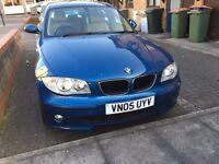 BMW 1 SERIES 2.0 118i SE 5dr Blue Manual (Full Leather) Excellent Runner For Sale