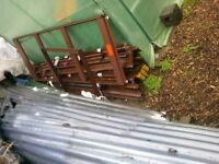 Aluminium greenhouse frame................. And rotovator etc on other listing.
