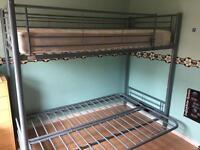 Triple Metal Futon Bunk Bed/Sofa