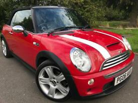 2006 MINI COPPER S CONVERTIBLE 11 MTH MOT