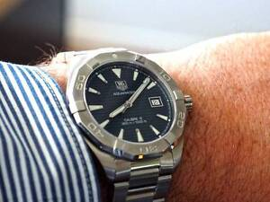 Tag Heuer Aquaracer 2011 Automatic, SOLD deposit,Balance Friday. Helensvale Gold Coast North Preview