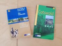 Cotswold Walking and Cycle books