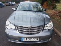 CHRYSLER SEBRING 2.4 AUTOMATIC LIMITED 50641 MILES
