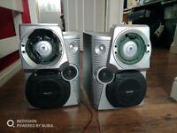 Used Philips Bookshelf Speakers