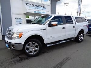 2014 Ford F-150 XLT XTR 4x4, Eco Boost, Sunroof, Canopy