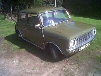 Mini clubman 1974