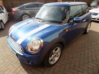 MINI HATCH COOPER 3 Door Hatchback (blue) 2007