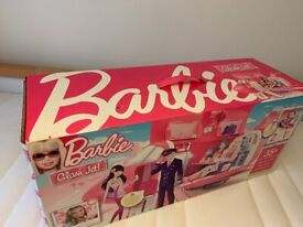 Amazing Barbie Doll Mattel Pink/Purple Jumbo Glam Jet Airplane BRAND NEW! FREE & FAST DELIVERY 🚚