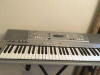 Yamaha keyboard - PSR A300, oriental - good condition - Thomsun stand