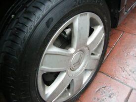 Mag Alloy Wheels Citreon Belingo