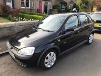 Vauxhall Corsa C 1.2 SXi petrol 2002 5 Doors Black