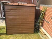 8 x 6 metal garden shed