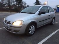 2004 Vauxhall Corsa 1.2 Petrol 3 Doors Silver.