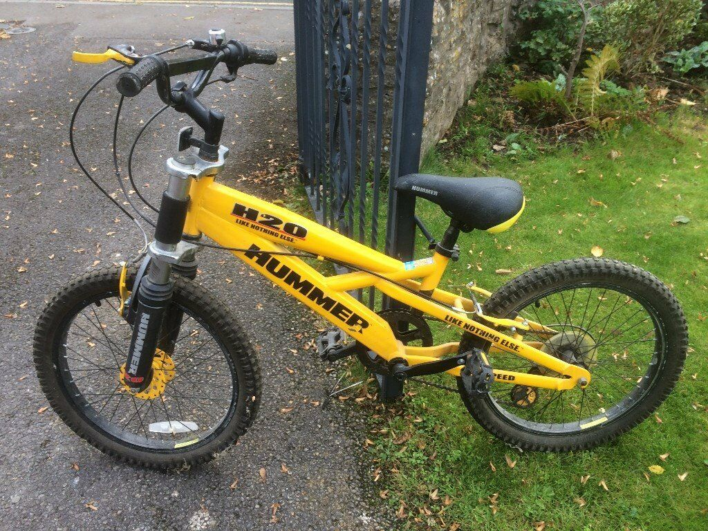 Child S Bike Hummer H20 20 Inch Wheels Collect From