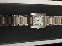 FOR SALE - Cartier Watch - REAL - all documents authentic with original box. Selling as I don't wear