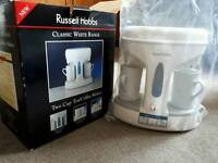 Russell Hobbs 2 cups tea coffee maker BRAND NEW in box