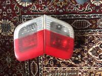 BMW SALOON E46 325I 2004 SALOON FACELIFT REAR BOOT LID LIGHT 6 907 938 AND 6 907 938