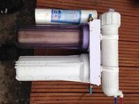 Reverse osmosis filter for pond or tank