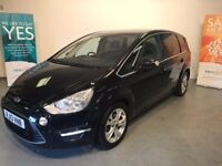 2013 / 13 FORD S MAX TITANIUM POWERSHIFT AUTO FULL FORD MAIN DEALER SERVICE FROM NEW UP TO MAY 2017