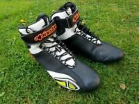Alpinestars boots motorcycle size 42