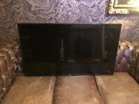 "LG 47"" flatscreen tv monitor with speakers / power wire / remote control"