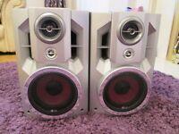 LG Set of Speakers Max Input Power 140 w