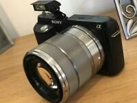 Sony Alpha NEX-F3 16.1MP Digital Camera with kit lens