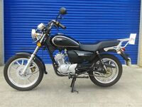 2015 SINNIS SC 125 CUSTOM CRUISER , SHOWROOM CONDITION 1 OWNER FROM NEW