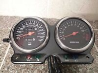 Suzuki GS500F GS 500 F clock speedo rev meter *low mileage 7211m*