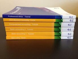 Level 2 AAT accountancy textbooks