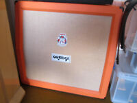 ORANGE 4 x 12 Lead Cabinet Superb Condition as new sat in studio taking up space