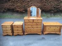 Westminster Pine bedroom set * free furniture delivery *