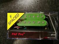 DiMarzio Paf Pro green F-spaced