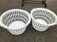 Laundry basket bin basket
