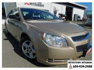 2008 Chevrolet Malibu LS; Local & No accidents! LOW KMS!
