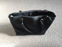 Large Black Handbag