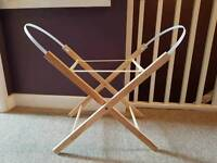 Folding Moses basket stand EXCELLENT condition