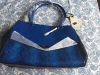 New blue bag