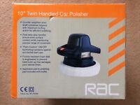 RAC 10 inch Twin Handled Car Polisher