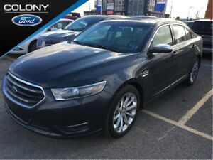 2017 Ford Taurus AWD, NAV, ROOF, LOW KM'S!