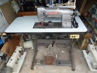 CONSEW TWIN NEEDLE FEED INDUSTRIAL MACHINE for Upholstery, Bouncy Castles,bags