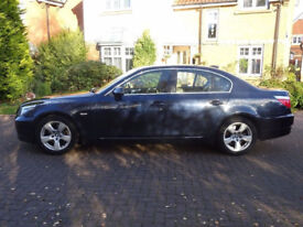 BMW 5 SERIES 2.0 520D SE 4d 175 BHP LEATHER TRIM ++ 2 PREVIOUS KEEPER FULL SERVICE