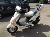 50cc scooter 66 plate 2 months old