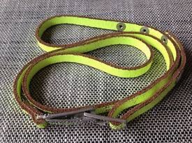 Authentic DIESEL 38ins Neon Yellow Skinny Leather belt ** Was £20 - NOW JUST £5**